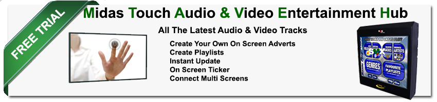 SMX Music Midas Touch Audio Video Hub